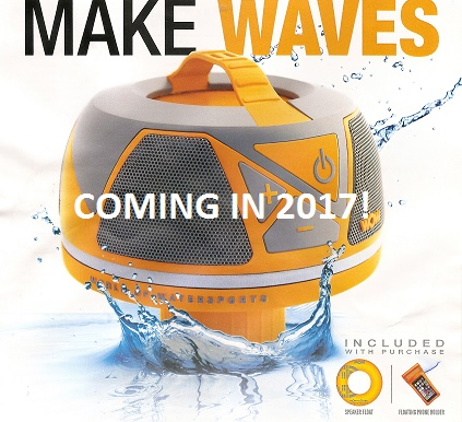 New for 2017, Wow-Sound floating bluetooth waterproof speaker